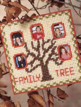 arbore familie cusut