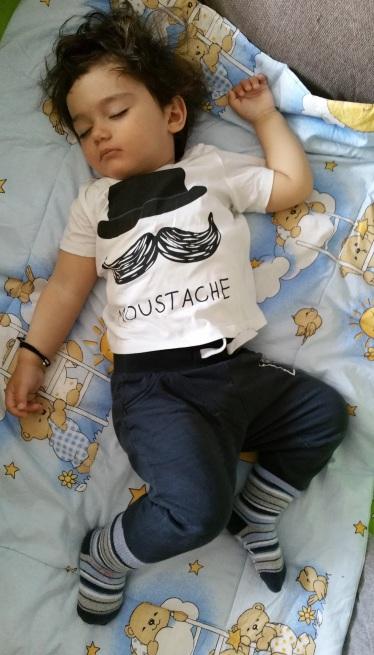 cand copilul doarme