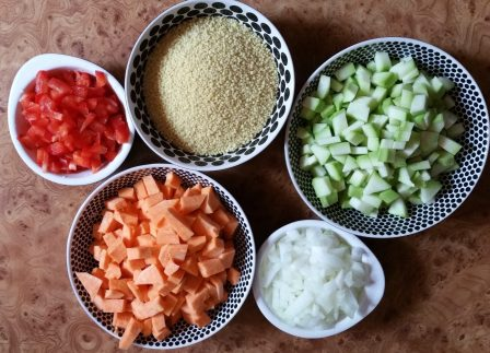 ingrediente cuscus