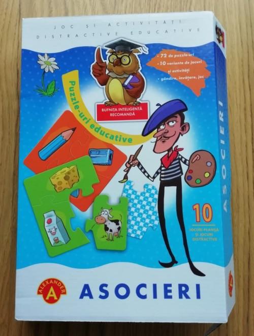 joc asocieri puzzle povesti