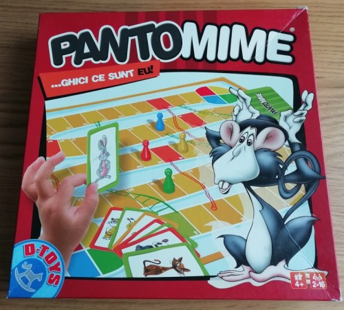 joc copii pantomime