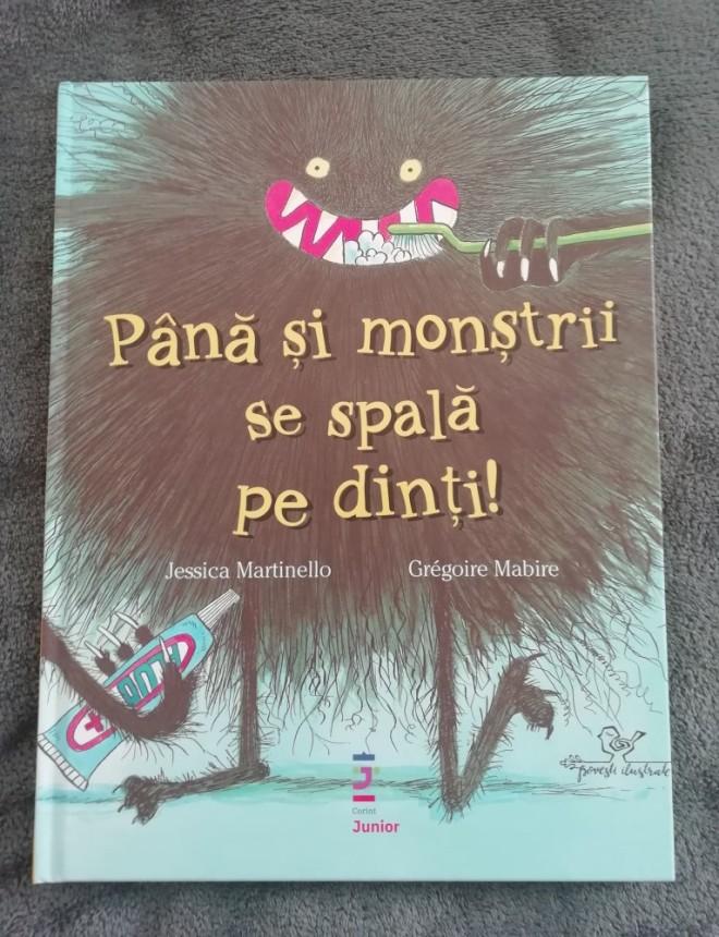 carte pana si monstrii se spala pe dinti