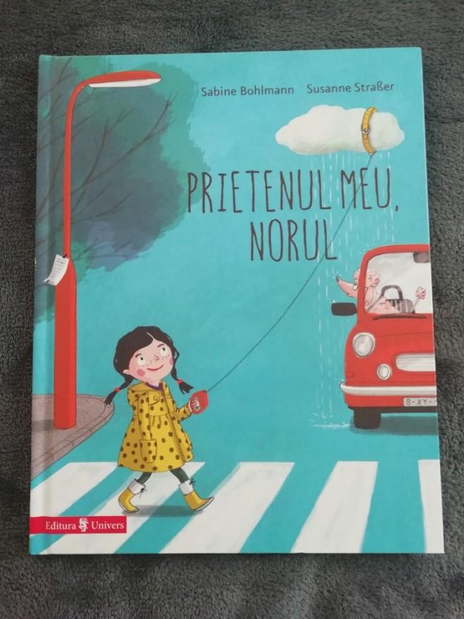 carte prietenul meu norul